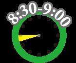 デイサービスの一日の流れ「8:30-9:00」