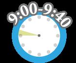 デイサービスの一日の流れ「9:00-9:40」